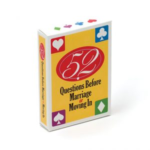 Image of 52 Questions Before Marriage Card Deck set