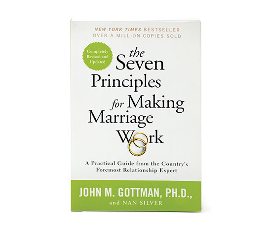 Image of The Seven Principles for Making Marriage Work book